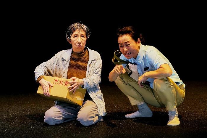 現代能楽集Ⅹ『幸福論』 弐 「隅田川」(撮影:細野晋司)