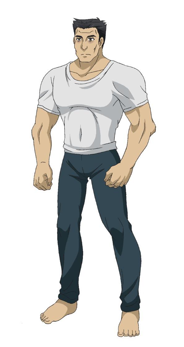 竹林竜馬(CV:安元洋貴) (C)Roy・ホビージャパン/『神達に拾われた男』製作委員会