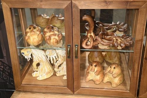 『ファンタスティック・ビーストと魔法使いの旅』より、ジェイコブが作った魔法動物をかたどったパン