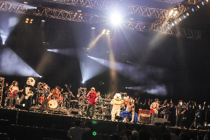 2日間で約6,000人が来場、日本最速のソーシャル・ディスタンス大規模ライブイベント『THE BONDS 2020』が大阪城ホールにて開催
