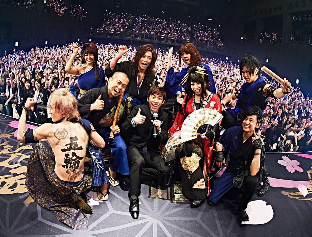 和楽器バンド / 織田信成  Photo by KEIKO TANABE(TAMARUYA)