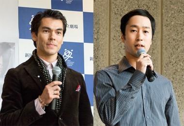 リンドルフ役:マイレン・トレウバエフ(写真左)、貝川鐵夫(右)