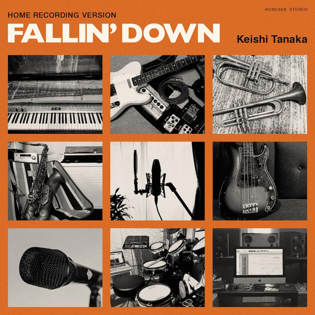 「Fallin' Down [Home Recording Version]」ジャケット写真