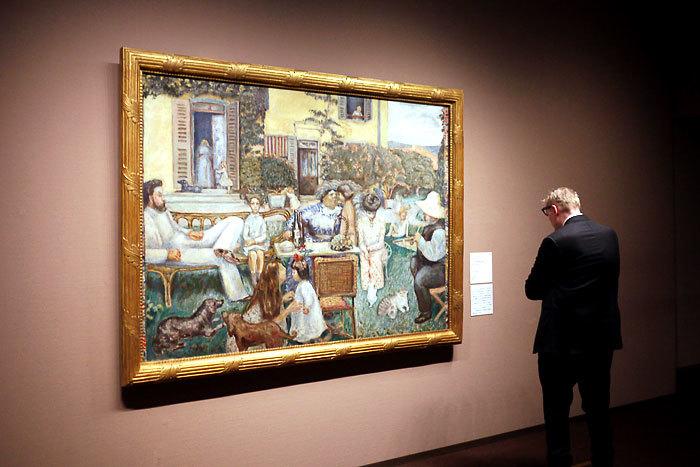 ピエール・ボナール《ブルジョワ家庭の午後》1900年│オルセー美術館
