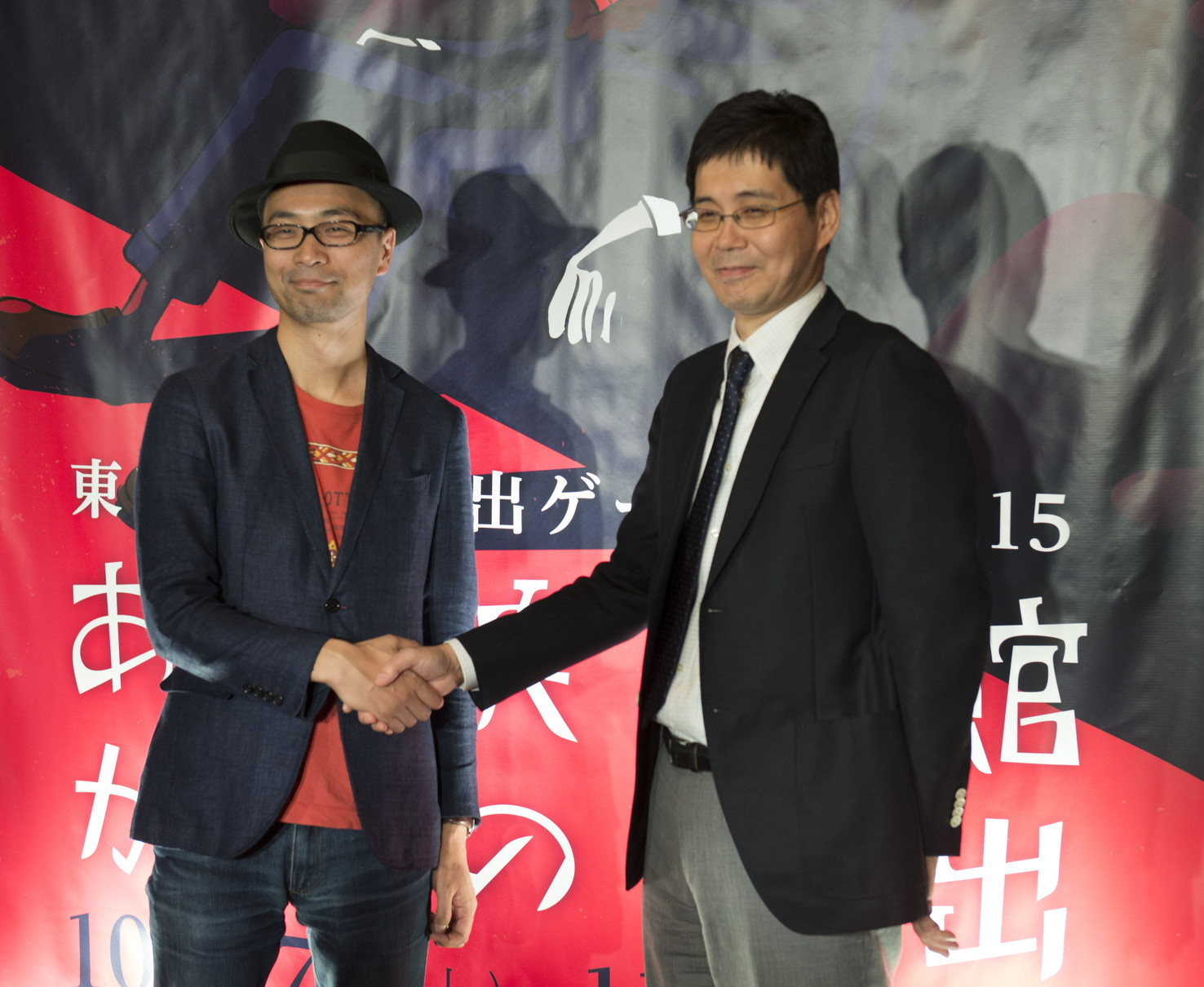 SCRAP代表 加藤隆生氏、松竹マルチプレックスシアターズ 経営企画部部長 井川甲作氏