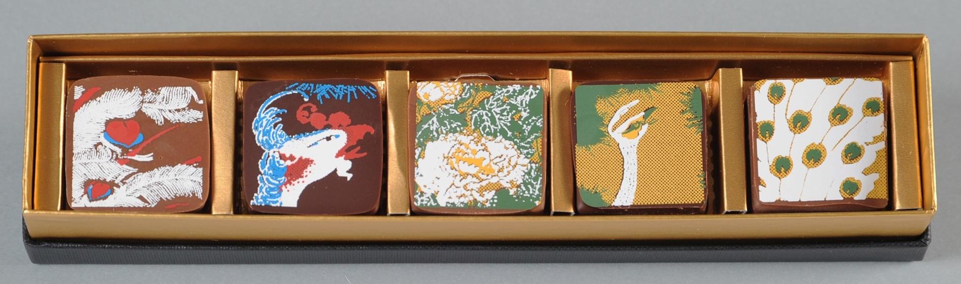 Okada Museum Chocolate 『若冲・孔雀鳳凰』2,800 円(税込)