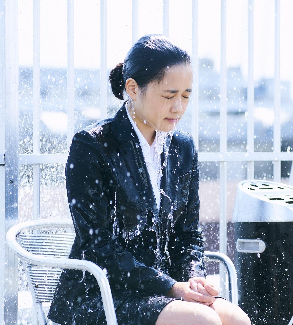 大原櫻子 (C)「びしょ濡れ探偵 水野羽衣」製作委員会