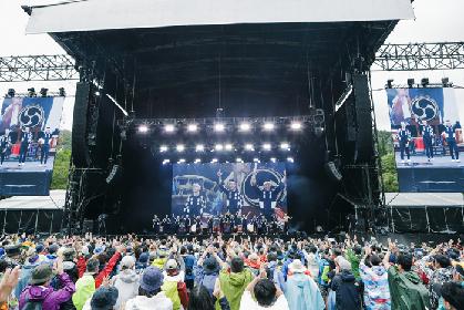 「FUJI ROCK FESTIVAL'18」太鼓芸能集団「鼓童」に熱い歓声