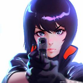 『攻殻機動隊 SAC_2045』のキャラクターデザインはイリヤ・クブシノブが担当、草薙素子の新ビジュアル到着