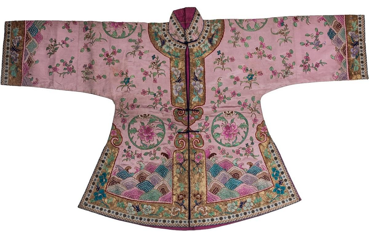 「女性婚服(婚礼服)」清時代 中国・首都博物館蔵