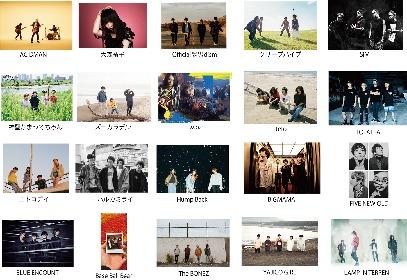 『VIVA LA ROCK 2019』ACIDMAN、BIGMAMA、クリープハイプ、SiM、大森靖子ら第一弾出演アーティストを20組発表