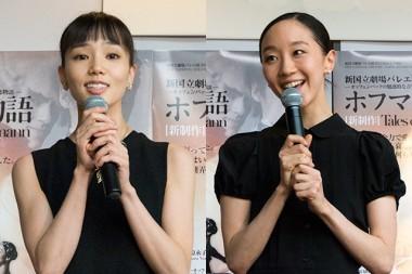 アントニア役:小野絢子(写真左)、アントニア/ジュリエッタ役:米沢唯(右)