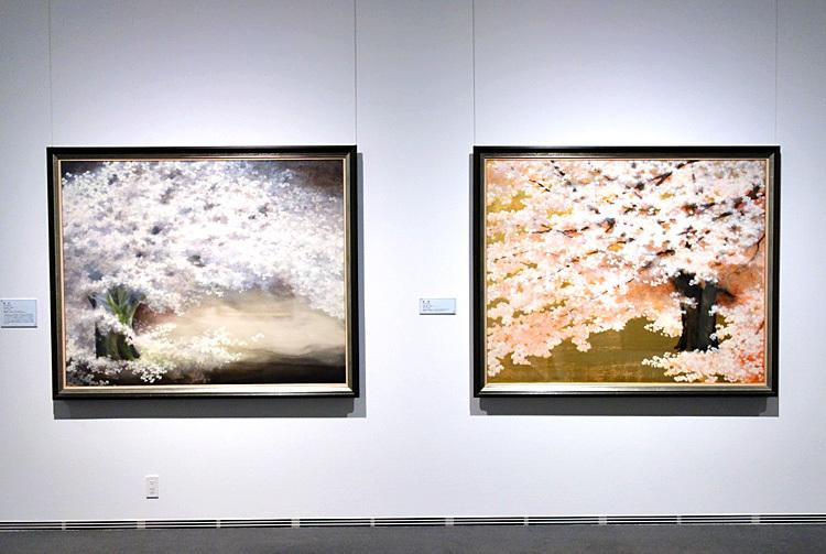 岸田夏子作品展示風景