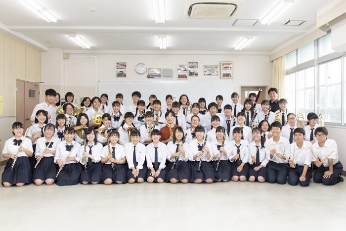 上野耕平と神奈川県立弥栄高等学校 吹奏楽部