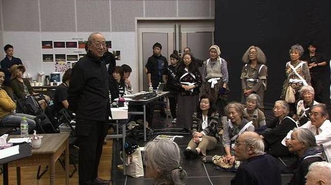 『ドキュメント 蜷川幸雄 最後の挑戦 〜未完の大作で伝えたかったこと〜』 (c)NHK
