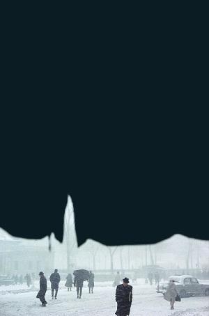 ソール・ライター 《天蓋》 1958年 発色現像方式印画 ソール・ライター財団蔵 ⒸSaul Leiter Estate