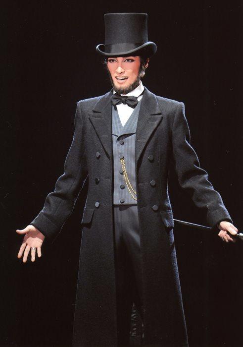 リンカーンの轟悠  c宝塚歌劇団  禁転載