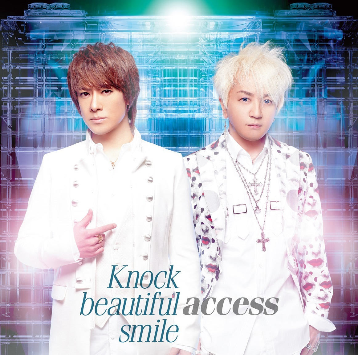 access「Knock beautiful smile」通常盤A