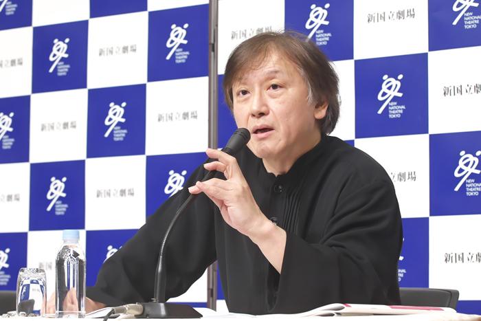 大野和士 新国立劇場オペラ部門芸術監督 (撮影:長澤直子)