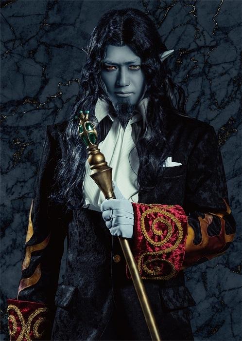 モンテ・クリスト伯爵役 谷口賢志 (C)2004 Mahiro Maeda・GONZO/KADOKAWA / (C)「巌窟王 Le théâtre」製作委員会