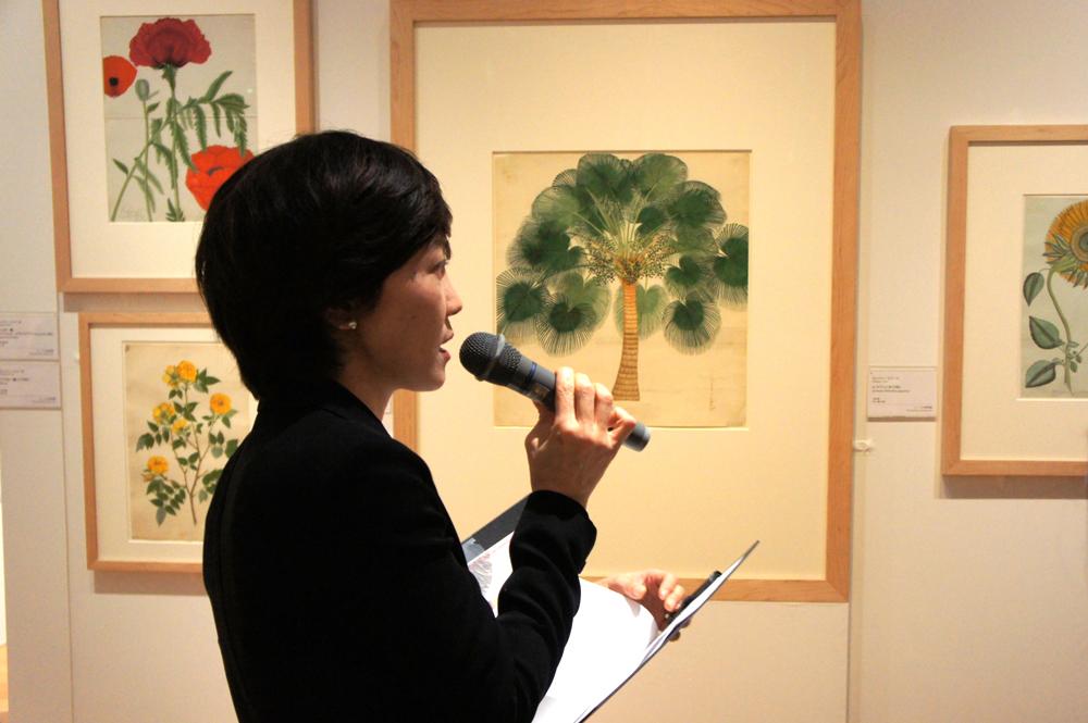 担当学芸員の大村理恵子さん
