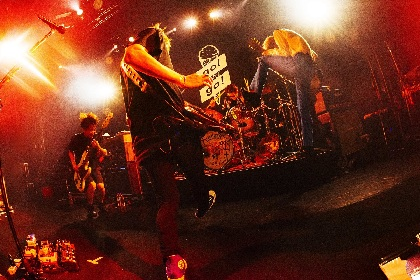 go!go!vanillas、東名阪&初の北海道ツアーの開催を発表