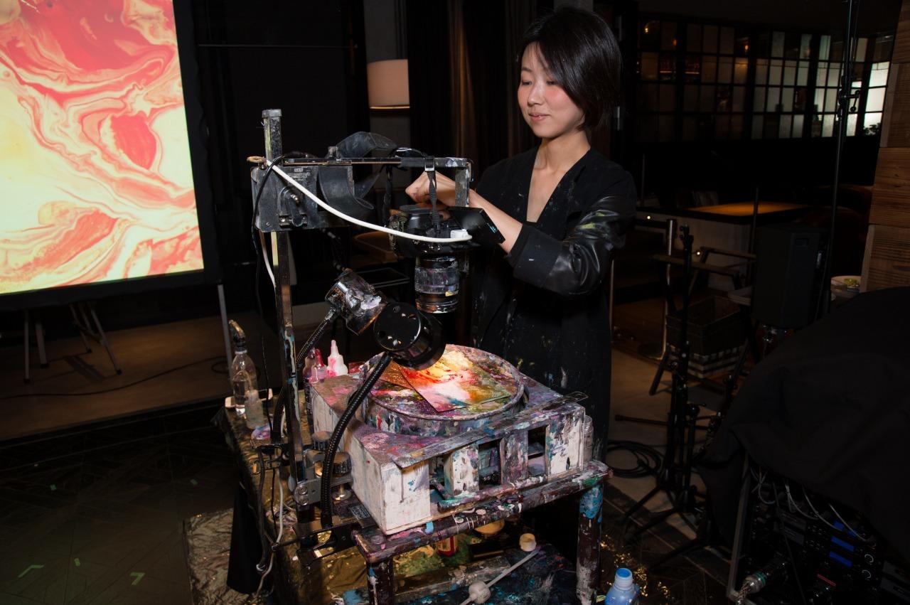 ペインティング用の投影機