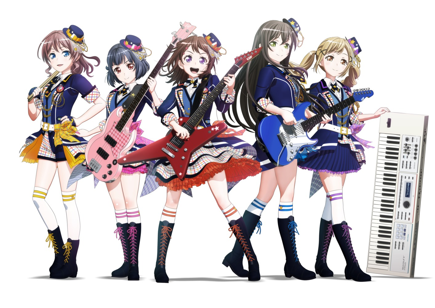 『BanG Dream!』 (C)BanG Dream! Project
