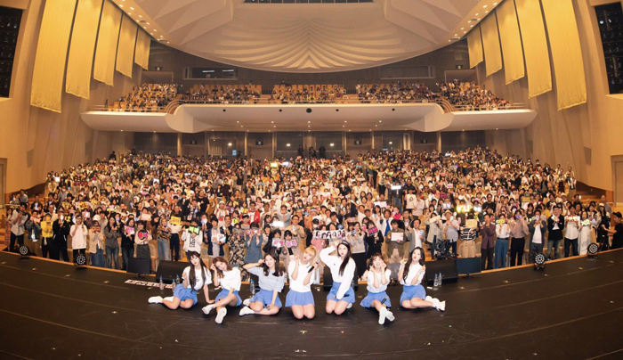 OH MY GIRL JAPAN OFFICIAL FANCLUB 1st ファンミーティングツアー2019