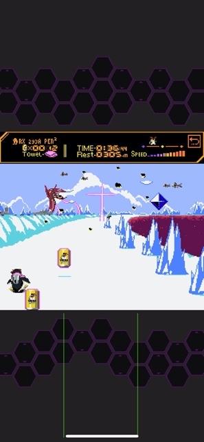 無料ゲーム「ペンペン南極大冒険」