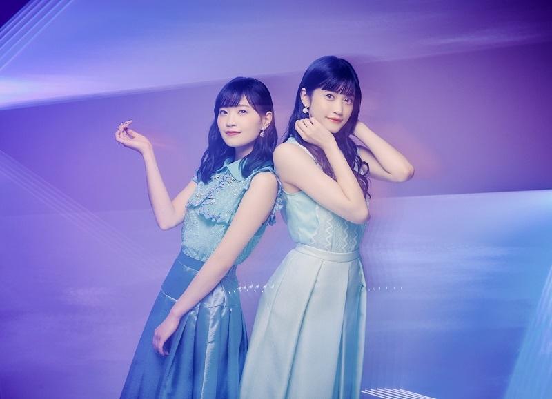 岩田陽葵と小泉萌香の新ユニット「harmoe」アーティスト写真
