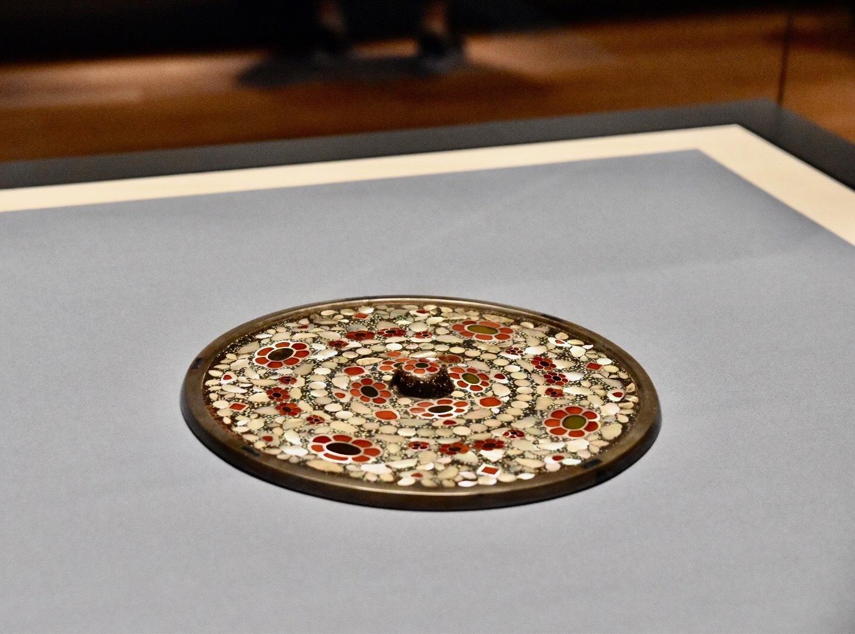正倉院宝物《平螺鈿背円鏡》 中国・唐時代 8世紀 正倉院蔵 前期展示
