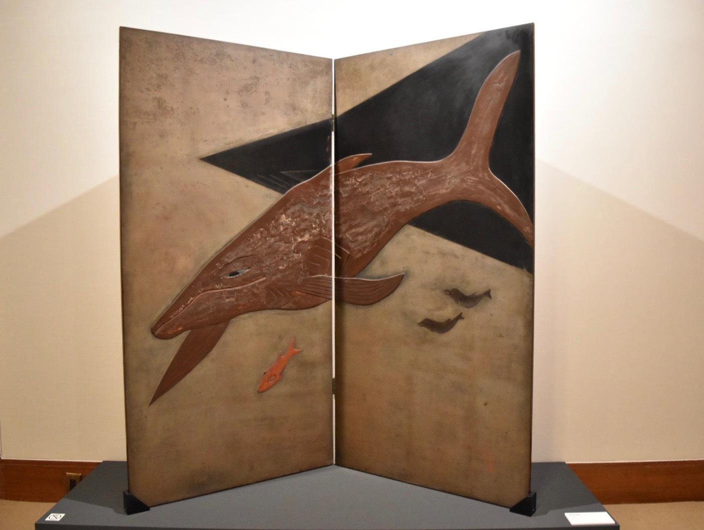 《屏風》 菅原精造 1927-28年頃 個人蔵