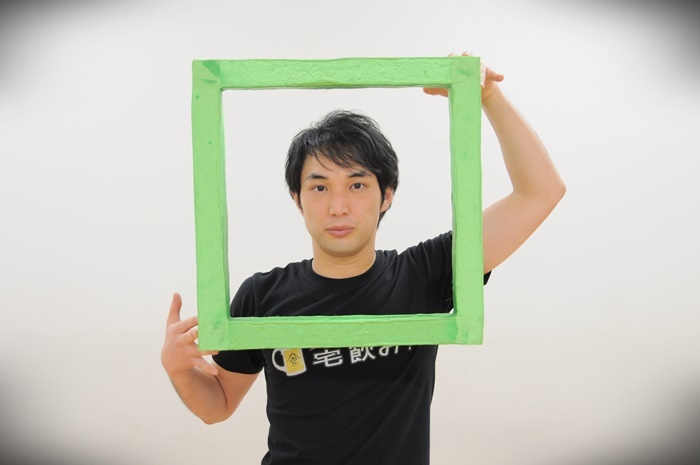 大熊隆太郎(劇団壱劇屋)。 [撮影]吉永美和子(人物・稽古場写真すべて)
