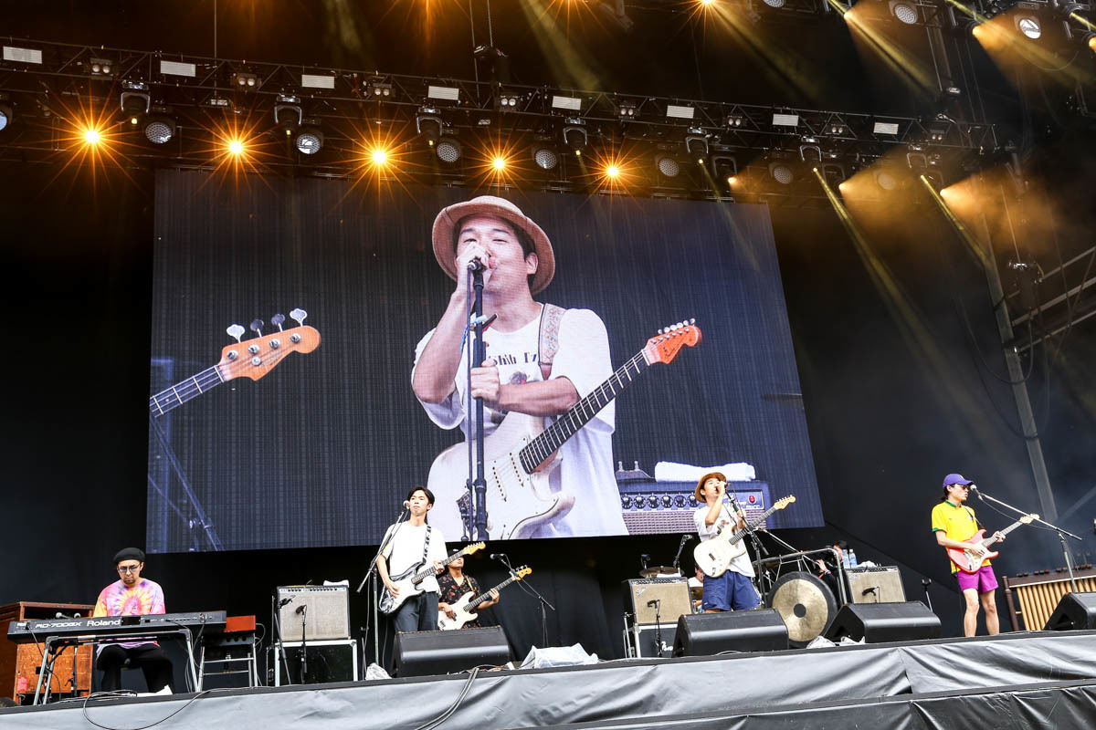 『FUJIROCK FESTIVAL '19』never young beach 撮影=風間大洋