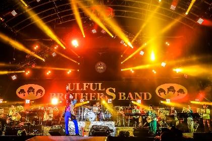 ウルフルズ、30周年イヤーの『ヤッサ 2018』で1万5千人を前に3人体制での再出発を宣言 新曲リリース&ツアー開催も発表