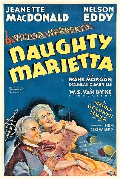「浮かれ姫君」(1935年)のアメリカ公開時ポスター(DVDはジュネス企画からリリース)