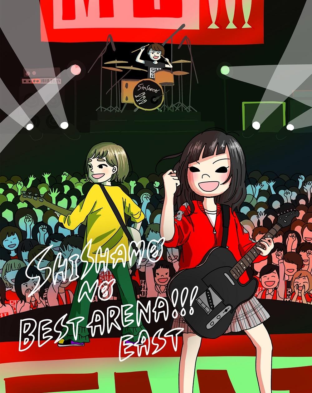Blu-ray Disc『SHISHAMO NO BEST ARENA!!! EAST』