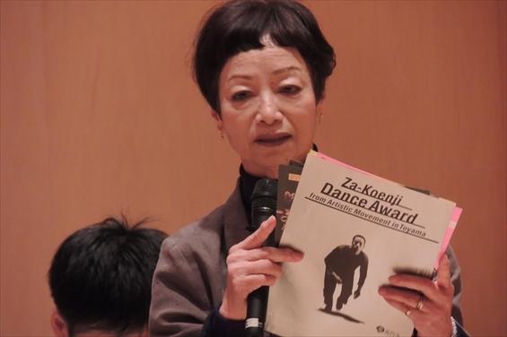 ダンスアワード アーティスティック・ディレクター 竹屋啓子氏