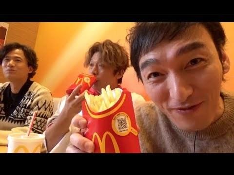動画「3人でマクドナルドに来たよ!!」より