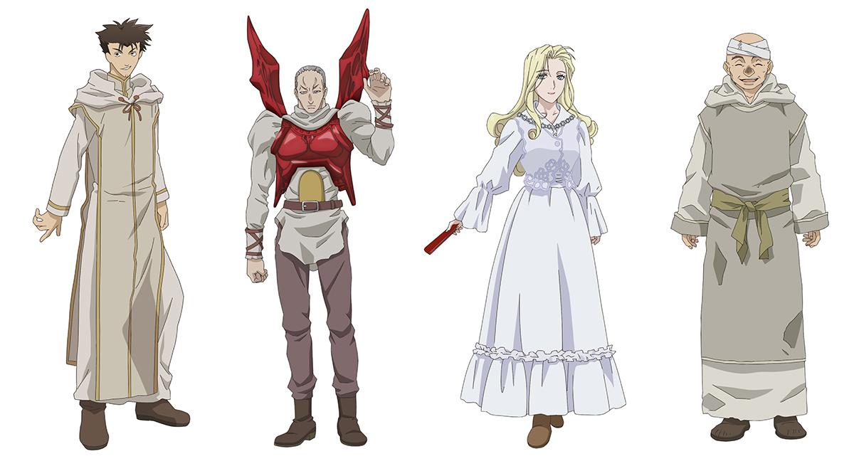 第2期『魔術士オーフェンはぐれ旅 キムラック編』4人の追加キャラクター
