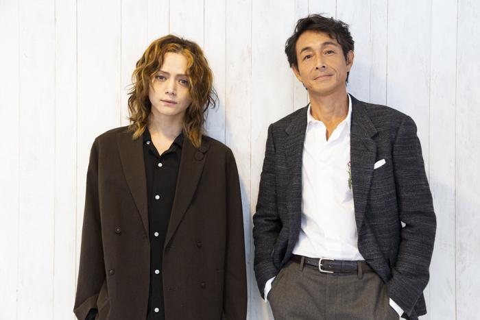 (左から)三浦涼介、吉田栄作 (撮影:池上夢貢)