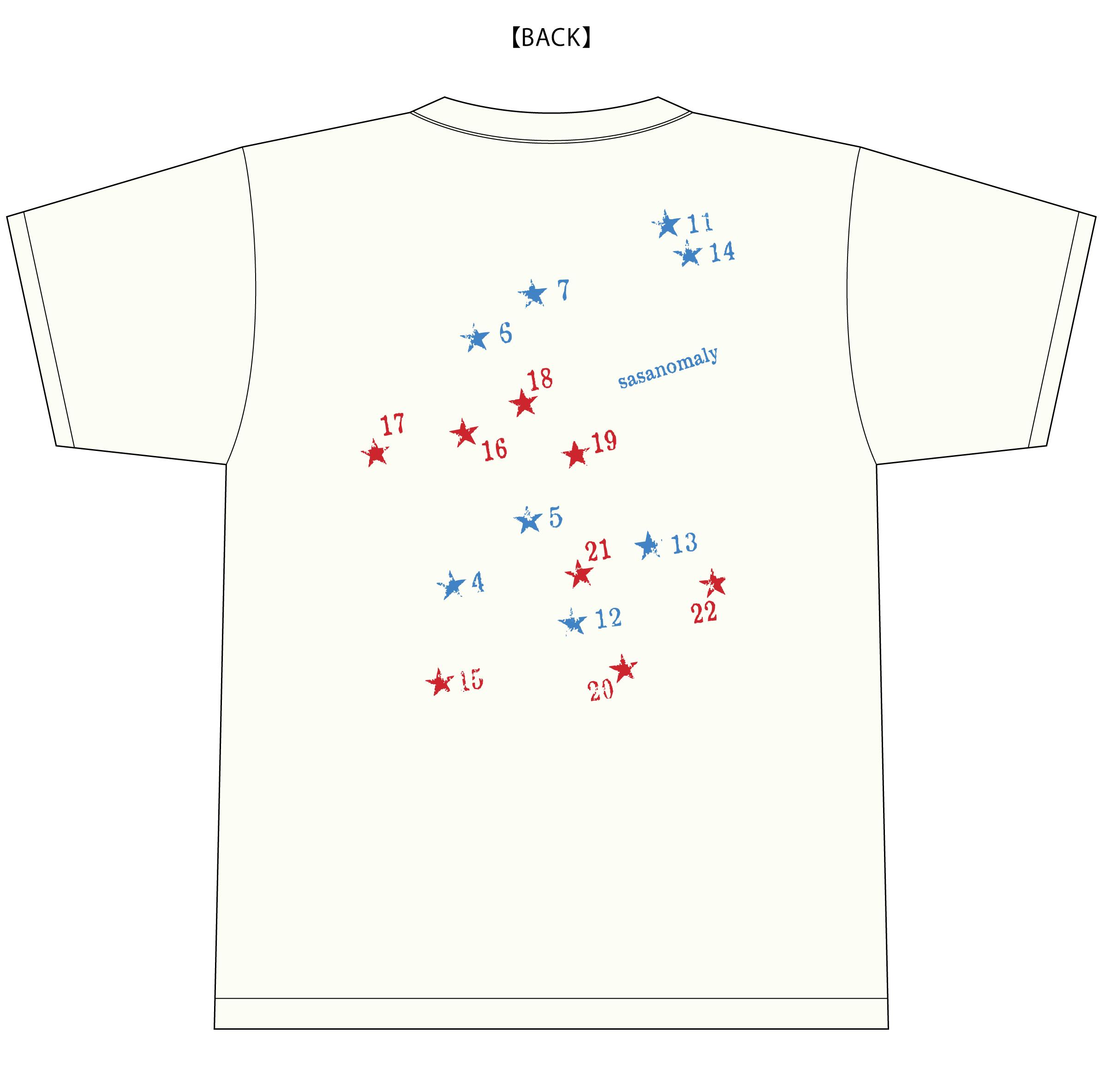 ササノマリイの限定デザインTシャツ