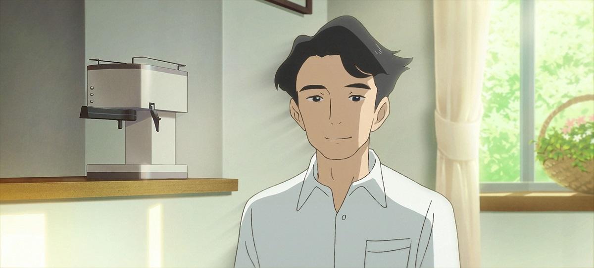 西島秀俊が演じるアオヤマ君のお父さん