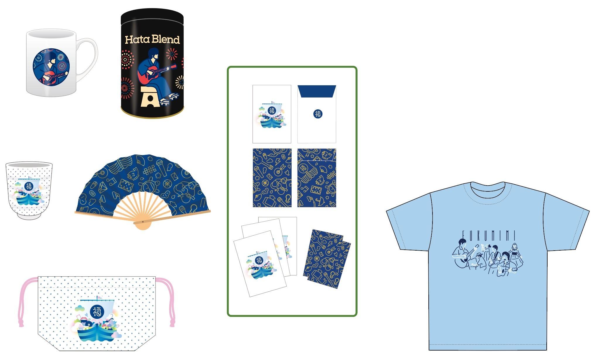 """東武百貨店""""福耳百貨店""""ポップアップショップ 記念グッズ参考写真 ※商品は、変更の可能性もあります。"""