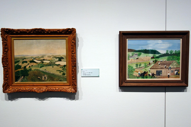 グランマ・モーゼス展示風景