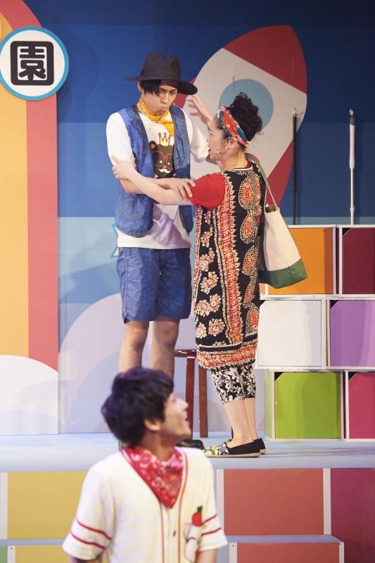 『ママと僕たち ~たたかえ!!泣き虫 BABYS~』撮影:渡部俊介