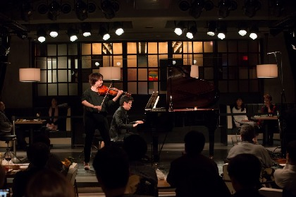 松田理奈(ヴァイオリン)と中野翔太(ピアノ)が織り成す情熱的でモダンな響き