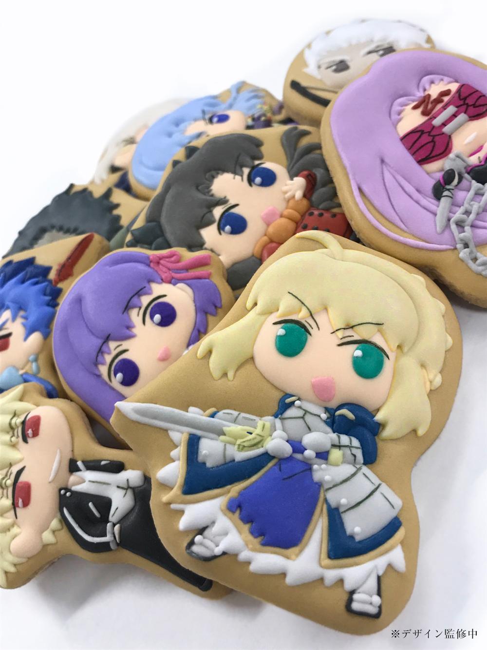・ぷっくりアイシングクッキー デフォルメアートがカワイイ 食べるのが勿体無い一品