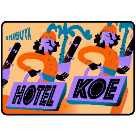 hotel koe tokyoのSpotify公式プレイリスト5月編を、TOKYO HEALTH CLUB、RUNGHYANG、DJ KRO、runpeが担当